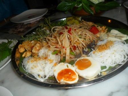 Thai platter Phuket town
