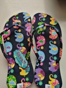 elephant flip flops for Lily