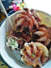 Kanom Krup with sauce