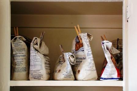 store cupboard flour