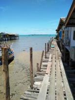 The boat house walkway