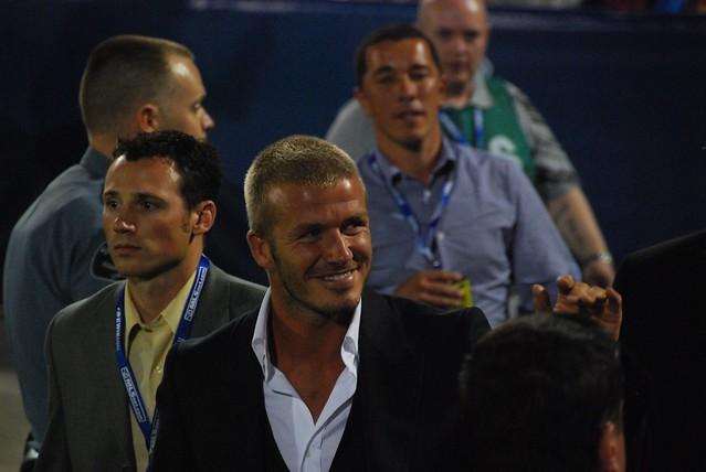 David Beckham in Denver