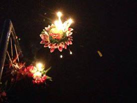 krathong on water