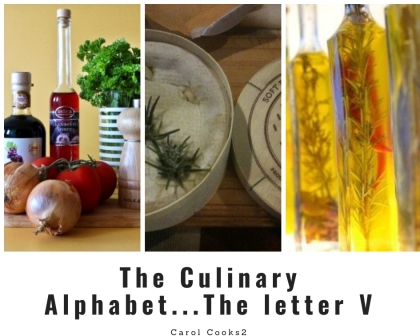 The Culinary Alphabet ...The Letter V