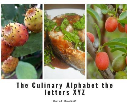 The Culinary Alphabet The Letter XYZ (1)