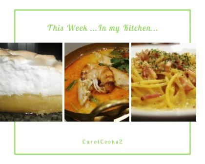 This week in my Kitchen (1)