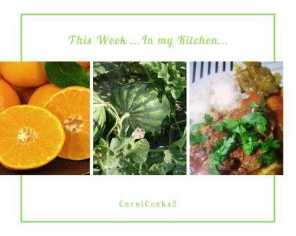 This week in my Kitchen 7th Feb 2020