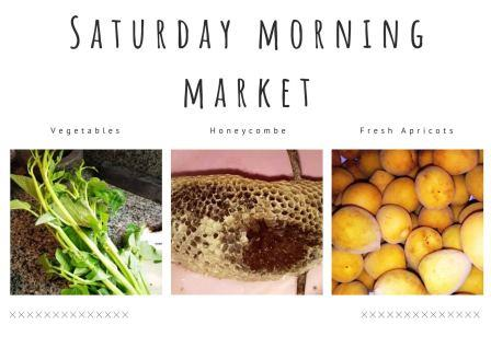 Saturday Morning Market 14th March