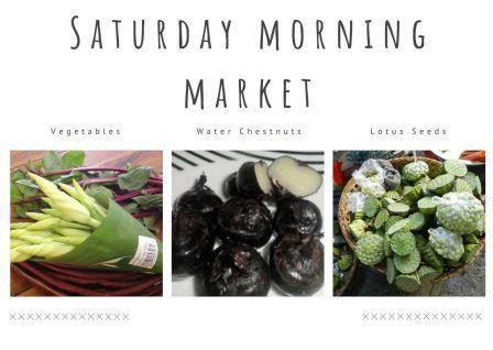 Saturday Morning Market 7th March