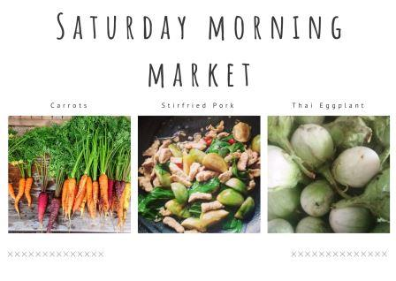 Saturday Morning Market 4th April