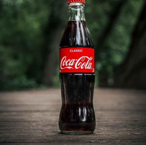 bottle coco cola