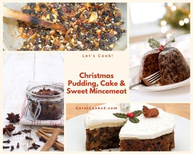 christmas Baking Cakes and Pudding